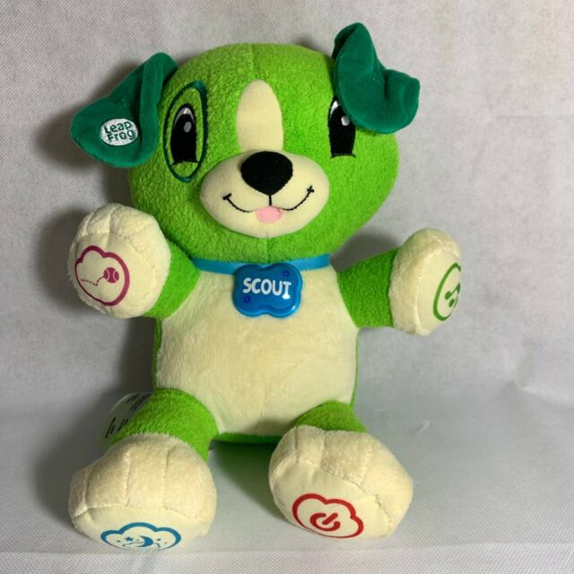 LeapFrog My Pal Scout Green Plush Interactive Puppy Dog ...
