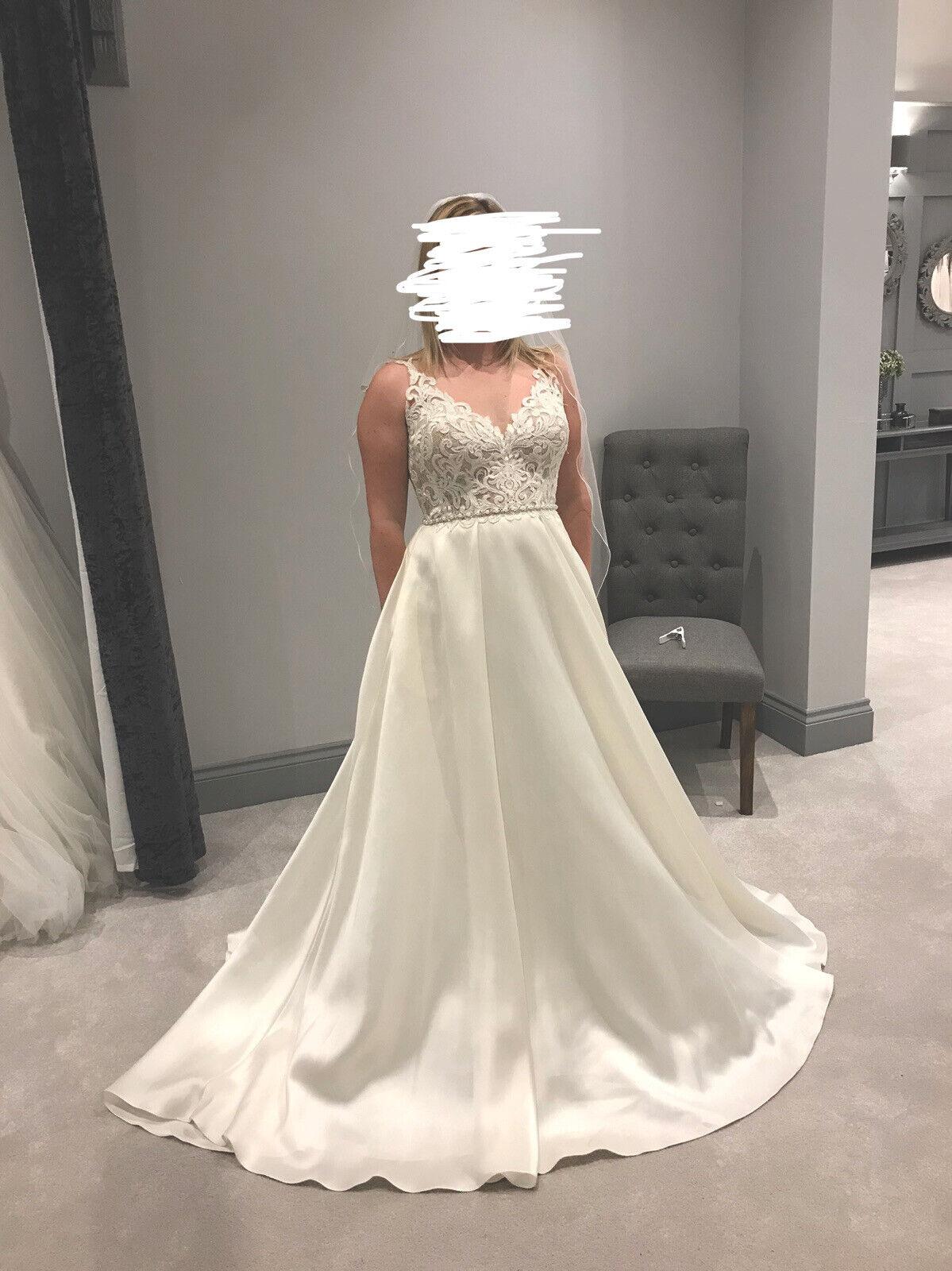 stella york wedding dress size 14