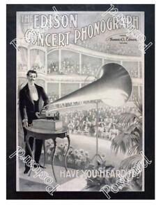 Historic-Edison-phonographs-Advertising-Postcard