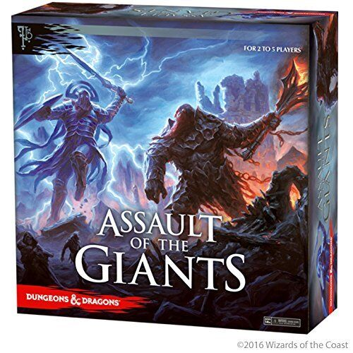 Assault of the Giants (Std Edition)    Dungeons and Dragons Boardgame - New b7557b