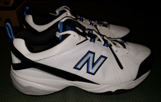 New Balance MX608VAR White Black Blue Running Shoes Sneakers Size 10.5 XW