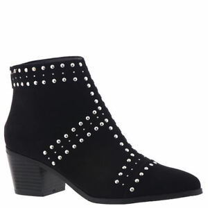 Black Studded Ankle Boots | eBay
