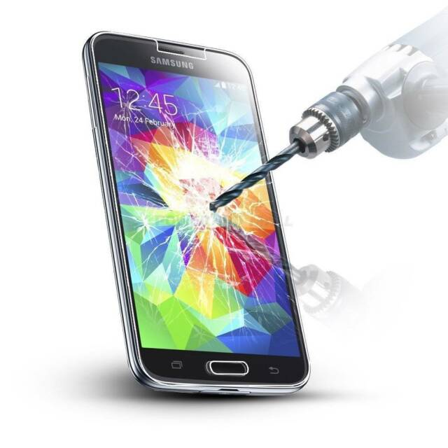 Samsung Galaxy S4 i9500 i9505 Clear Tempered Glass Screen Protector Guard Cover