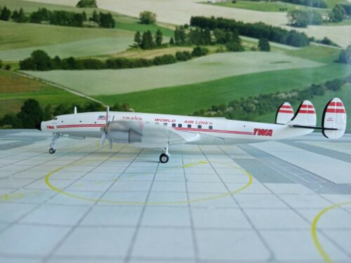 Herpa Wings 1:200 TWA Trans World Airlines Lockheed L-1649A Jetstream