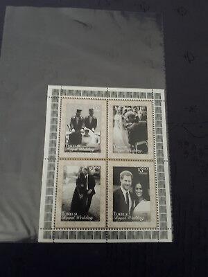 Briefmarken Tokelau 2018 Prince Harry & Meghan Royal Wedding Australien, Ozean. & Antarktis Königliche Hochzeit Perfekte Verarbeitung