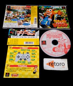 CRASH-BANDICOOT-RACING-sony-playstation-PSX-Play-Station-PS1-JAP-Sony