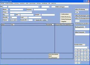 Rechnungsformular mit Journalfunktion Angebote Rechnungen auf cd | eBay