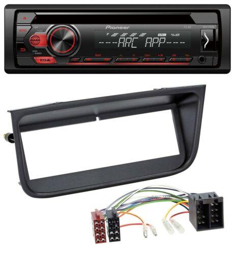 Pioneer mp3 USB CD 1din aux radio del coche para peugeot 406