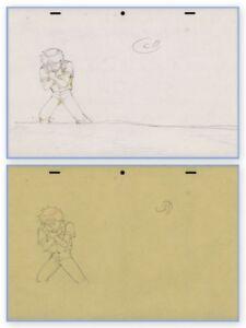 Akira-Anime-Genga-Set-for-Cel-Animation-Art-Kaneda-Wretching-Otomo-COA-1988