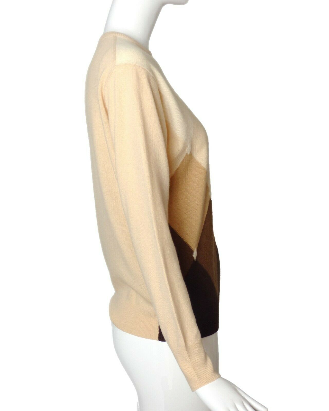 GUCCI-1970s Cashmere Sweater, Size-8 - image 2