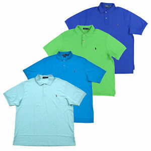 Polo-Ralph-Lauren-Mens-Big-And-Tall-Polo-Shirt-Interlock-Soft-Touch-Prl-New-Nwt