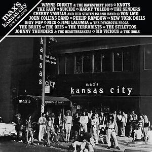 MAX-039-S-KANSAS-CITY-1976-amp-BEYOND-2LP-vinyl-Suicide-Wayne-County-Dolls-Fast-Nico