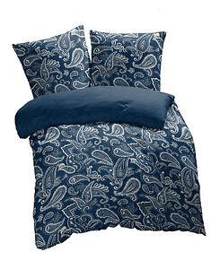 das bild wird geladen eterea microfaser bettwaesche paisley life grau silber blau - Bettwasche Paisley Muster