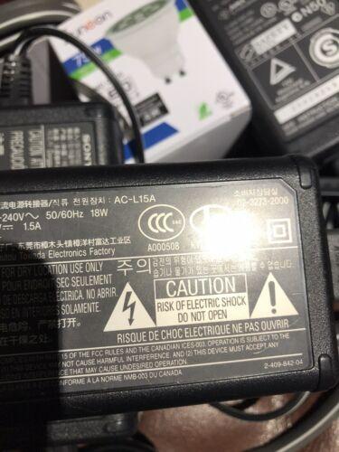 Sony AC-L15A adaptador de alimentación de CA-Handycam Adaptador