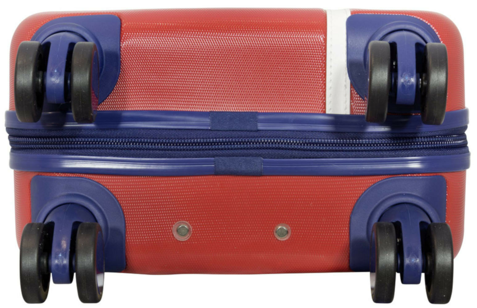 ABS Coquille Dure Valise de voyage trolley montagnes dehnfalte série montagnes trolley rouge taille XL b6abaa