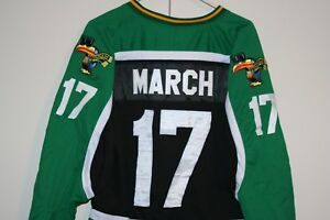 445ba921c Guinness Brewery VTG March 17th St Patrick's Day Sewn Hockey Jersey ...