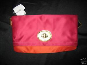 NWT-Coach-Amanda-Satin-Foldover-Flap-Handbag-12926