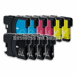 10-PACK-LC61-Ink-Cartridges-for-Brother-MFC-490CW-MFC-495CW-MFC-J615W-MFC-J630W
