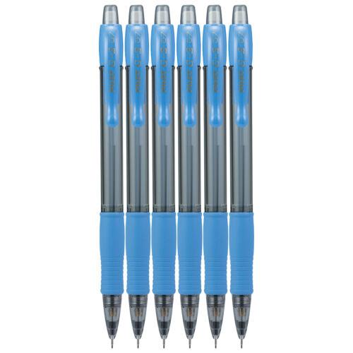 Pilot G2 Mechanical Pencil #2 HB 0.7mm Periwinkle Fine Point 6 Count