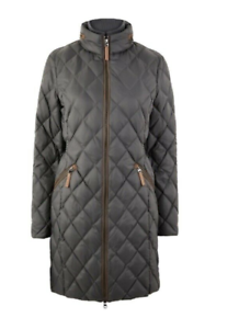 Ex-M/&S Lightweight Down and Feather Jacket with Stormwear /& Concealed Hood
