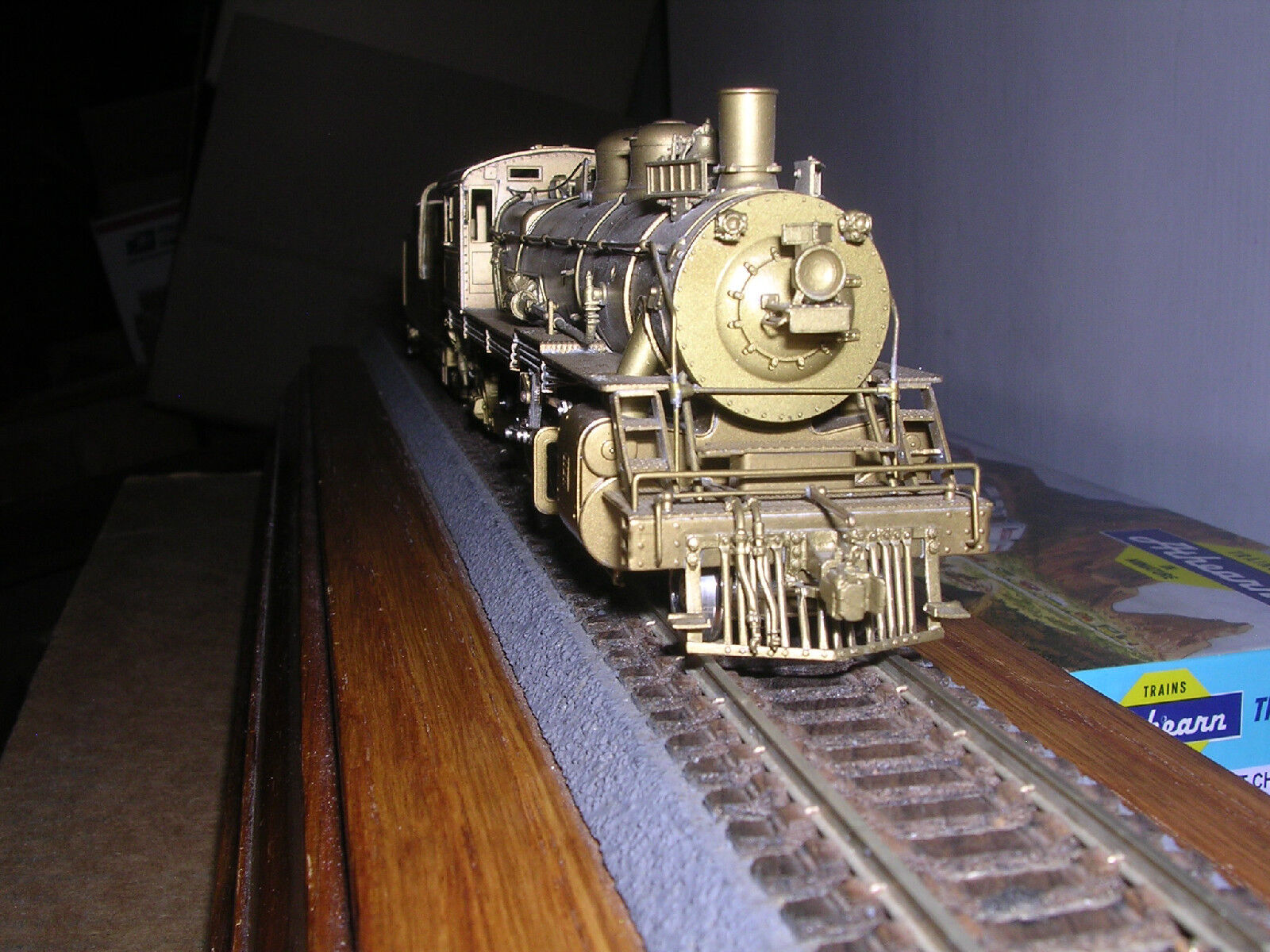 BRASS P.F.M.  Great Northern Class H5 4-6-2 Steam Loco Unpainted  H.O.Scale 1 87