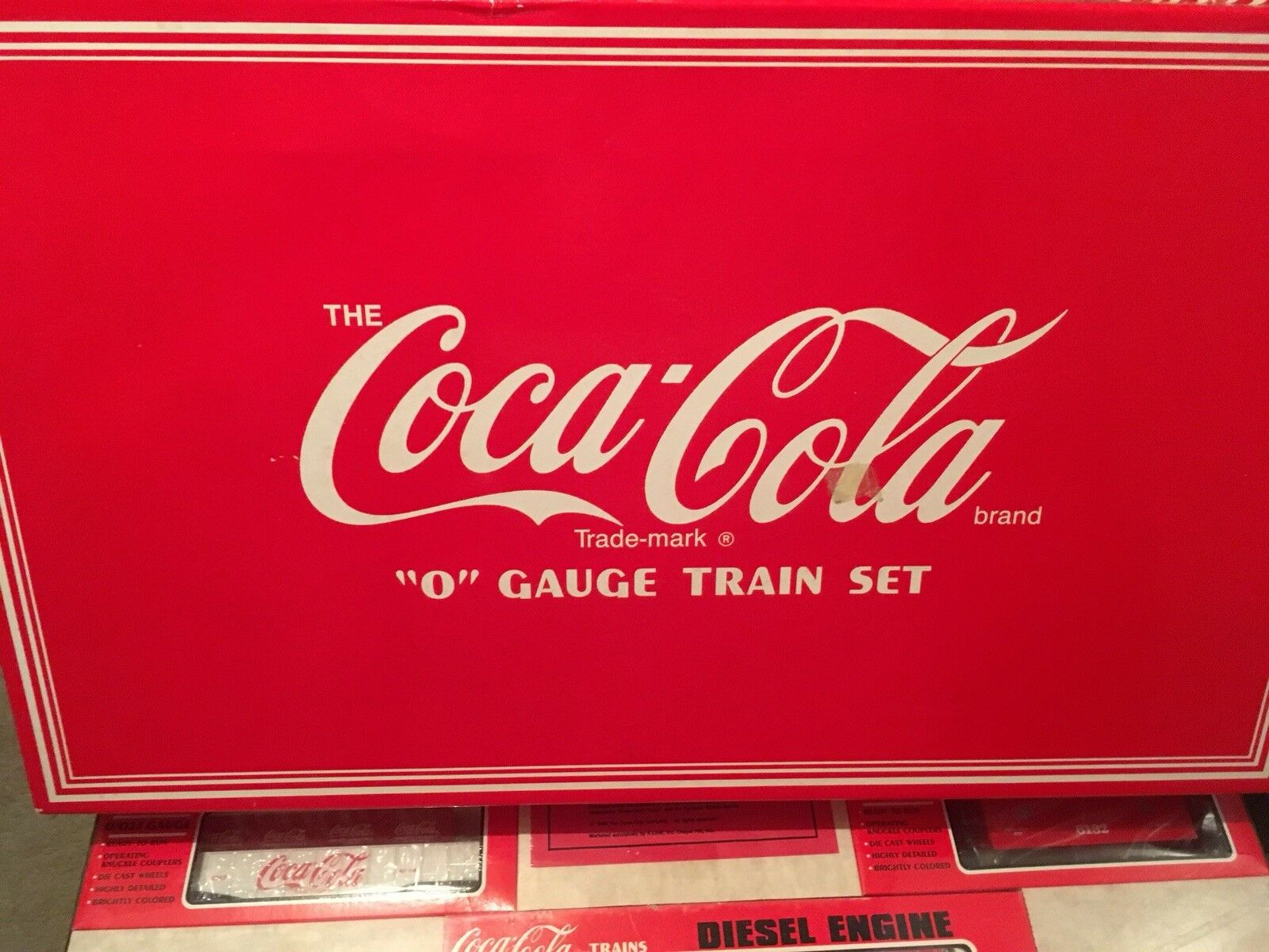 K-Line  Coca-Cola  0  gauge train set 7-unit electric train set k-1907