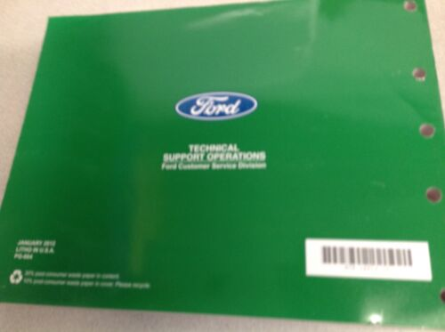 2012 Ford F-250 F350 F250 450 550 Wiring Electrical Diagram Manual NEW
