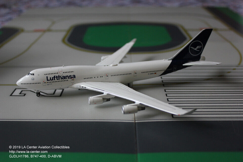 Gemini Jets Lufthansa Boeing 747-400 in New Farbe Diecast Model 1 400