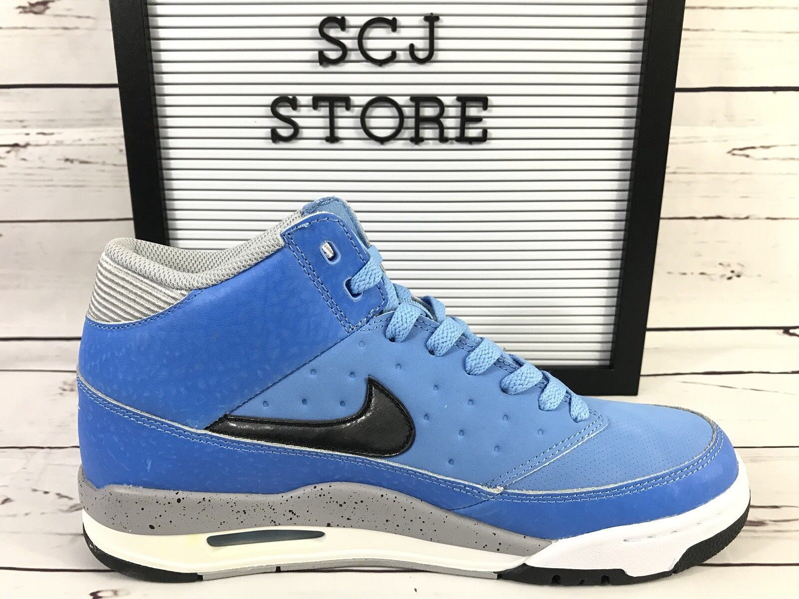 Nike Air Flight Size 8 Classic Basketball bluee Jordan Retro shoes 414967-400