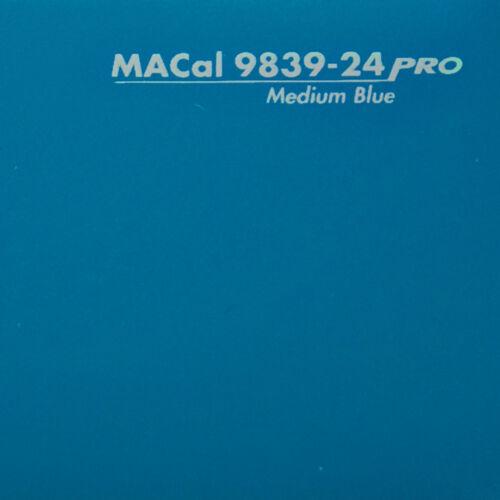 5,00 € //m 10 m Autofolie PKW KFZ Folie mittelblau glänzend 61,5 cm