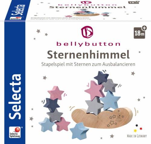 64020 Bellybutton by Selecta Holz Sternenhimmel Stapelspiel Ausbalancieren 12 T