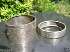 Joblot Victorian Silver White Metal Bracelets Old Antique Aesthetic Cuff Bangles