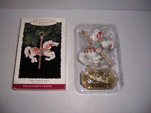 1993 Hallmark Keepsake Ornament Tobin Fraley Carousel Collector's Series NEW