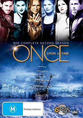 ONCE UPON A TIME Series SEASON 2 = NEW R4 DVD
