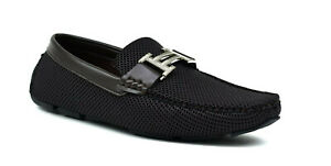 Men's New Slip On Casual Boat Deck Moccasin Designer Loafers Driving Shoes Brown