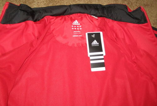 NWT Adidas Men/'s DRIVE 2 Track Training Running Jacket Red Light Scarlet S,M,L