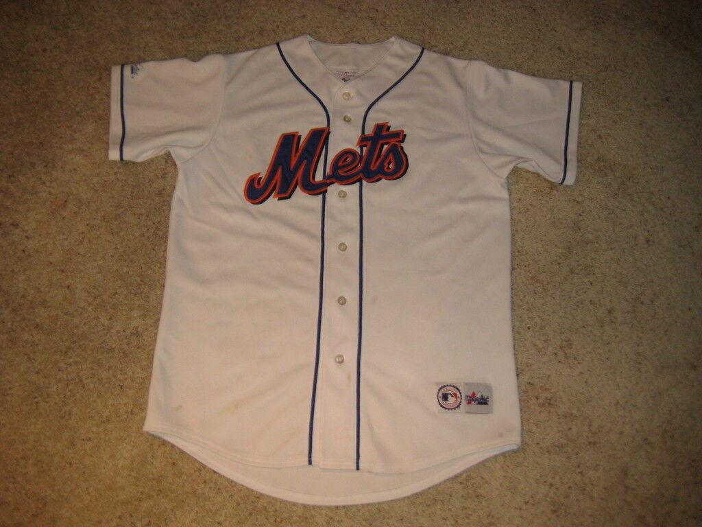 New York Mets Majestic MLB Baseball Jersey LG