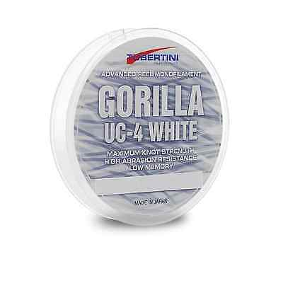 .filo Da Pesca Nylon Tubertini Gorilla White Uc4 1000mt Ø 0.18 Mare Fiume Trota