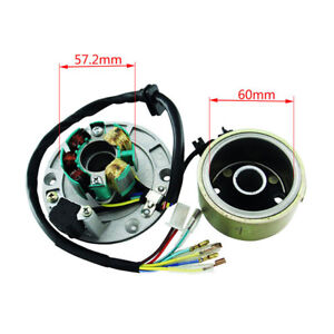Details about Speed Motor Kits Stator Rotor Magneto Coil For ZongShen 150CC  Oil-cooled Engine