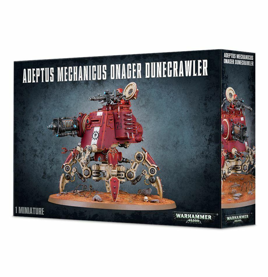 Adeptus Mechanicus Onager Dunecrawler Warhammer 40k 20% off UK rrp