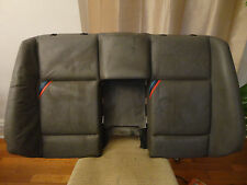 BMW E36 M3 Mulberry Gray Rear Upper Convertible Seat 3-Series Grey M3