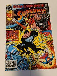Superman #81 September 1993 DC Comics Jurgens Breeding