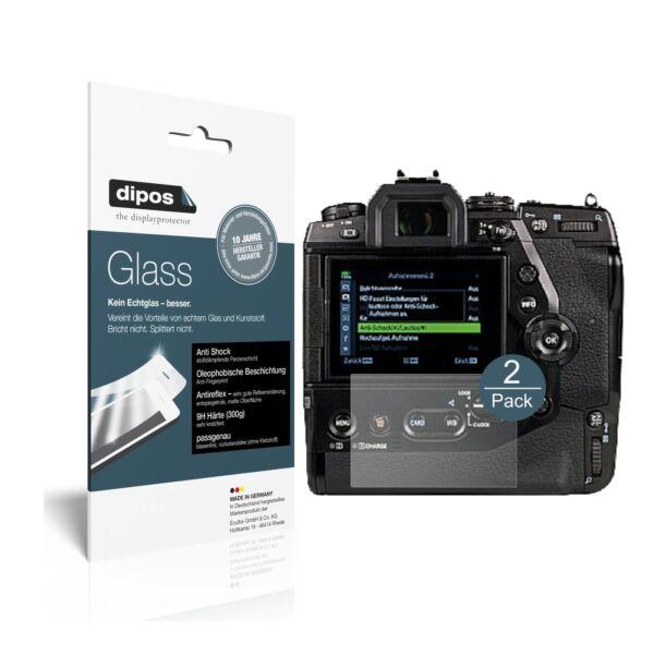 Impartial 2x Olympus Om-d E-m1x Protection Ecrán Mat Verre Souple Film Protecteur 9h Dipos Large SéLection;