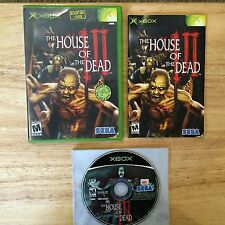 House of the Dead III Original Xbox System Complete Light Gun Game 3