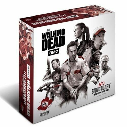 The Walking Dead (TV) - No Sanctuary Survival Board Game (miniatures version)