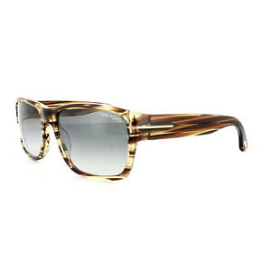c96807d799c Tom Ford Sunglasses 0445 Mason 50B Brown Marble Grey Gradient ...