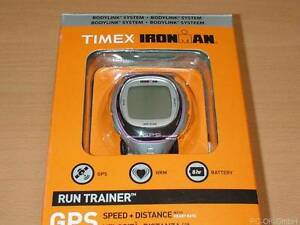DEFEKT-Timex-Ironman-Run-Trainer-GPS-T5K630-Sportuhr-Pulsmesser-Brustgurt-0