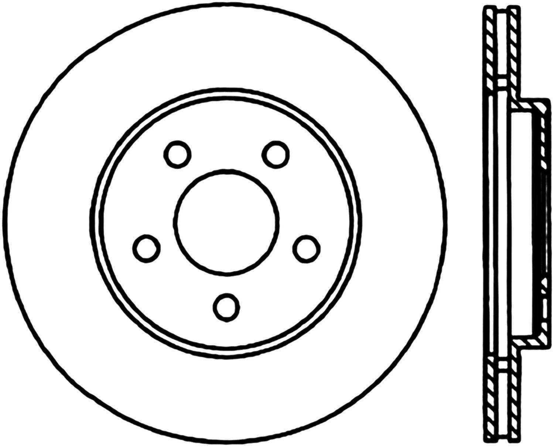 Disc Brake redor-C-TEK Standard Front Centric 121.63039