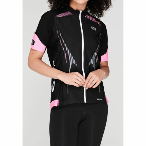 Sugoi Damen RSE Zip Trikot Funktions T Shirt Kurzarm Fahrradtrikot Radsport