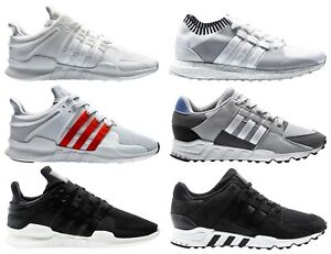Adidas Equipment Support ADV Sneaker Shoe Mens EQT zx Shoe BlackWhiteBeige | eBay